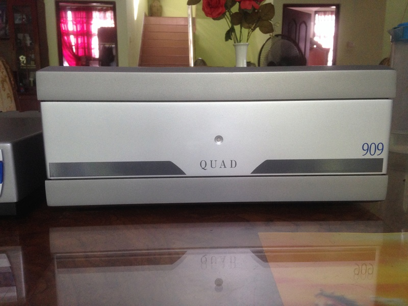 QUAD 909 Power Amplifier(SOLD)) Img_5022