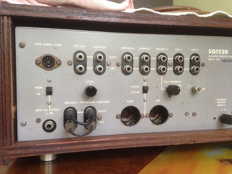 LUXMAN SQ-1220 int amp(SOLD) Img_5316