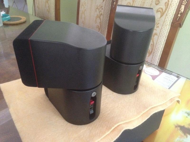 Bose Am5 Series II sub-woofer + 4 Bose Redline Single Cube Img_5522
