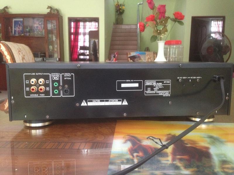 KENWOOD CDP 7020 high-end 2 x Burr-Brown PCM 1701P/ KSS-150A Img_5734