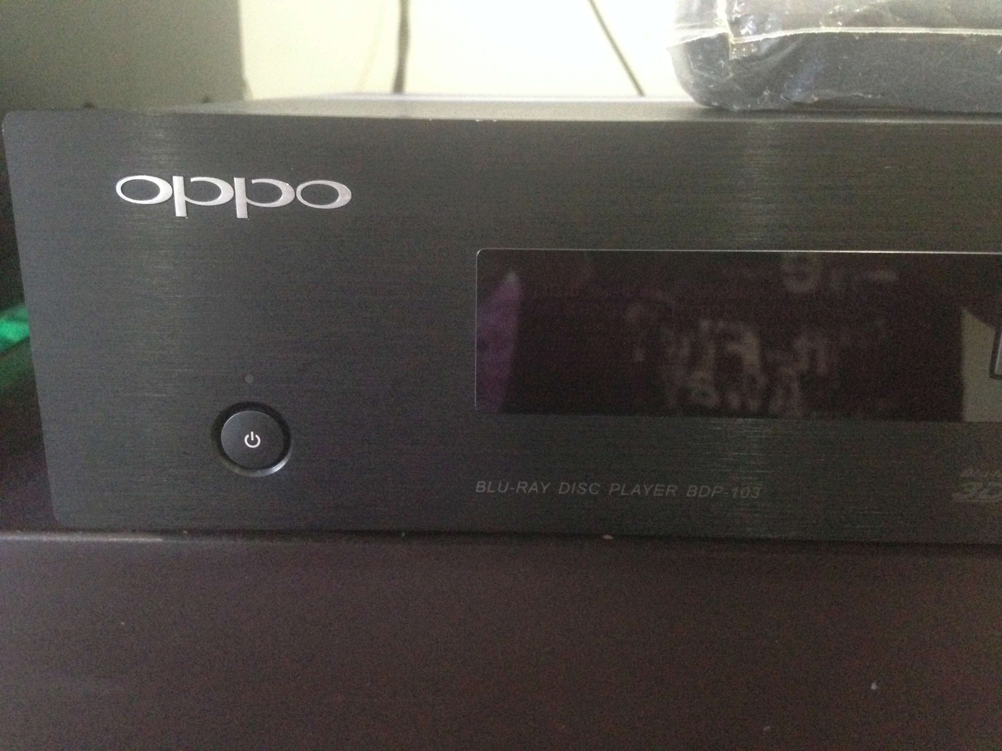 (sold)OPPO BDP-103 Blu-ray Player with region free Img_5826