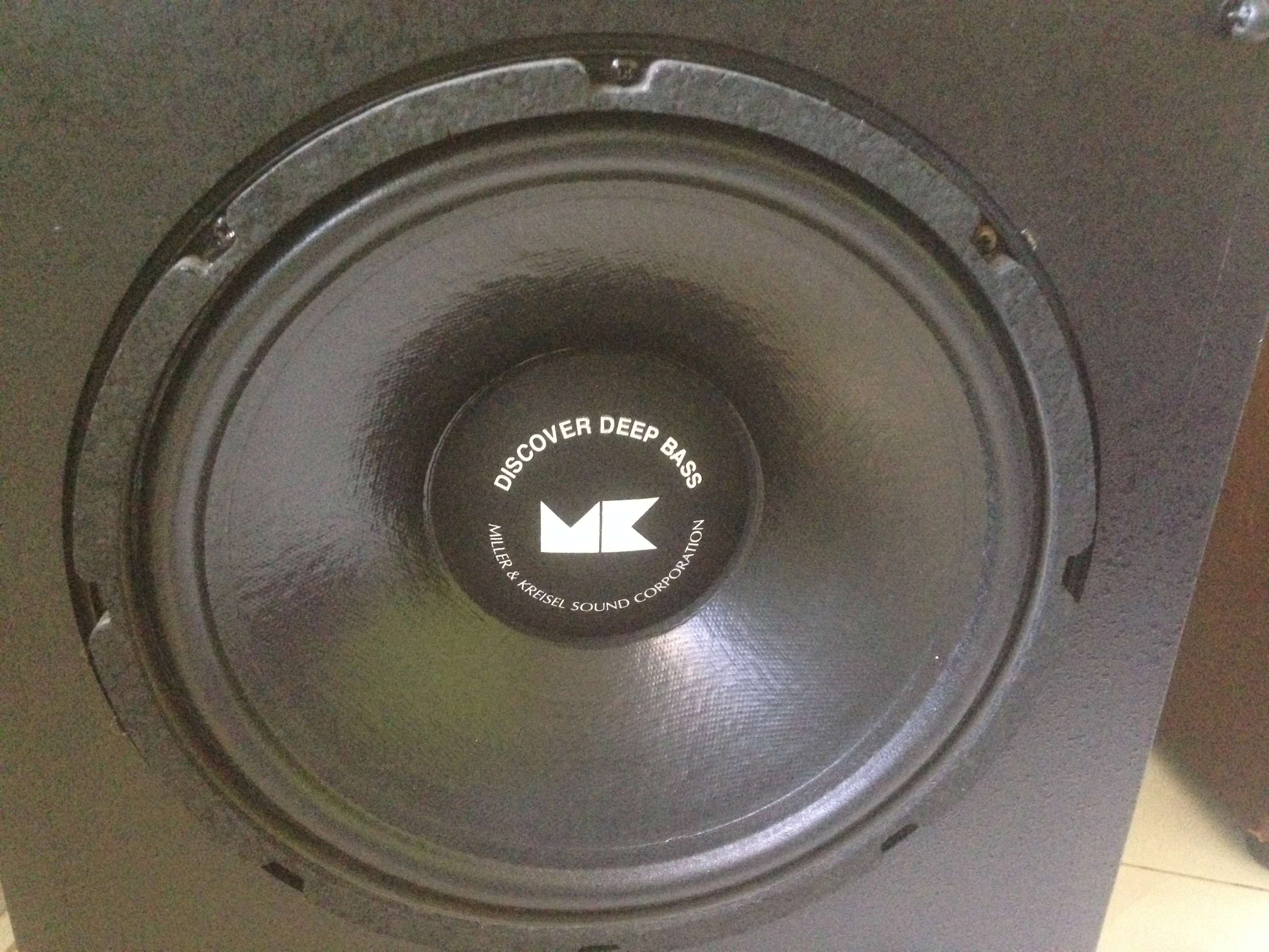 "M&K MX-100 Dual 12"" inch THX Powered Subwoofer(USA) Img_5834"