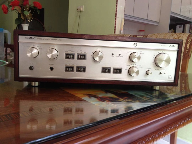 LUXMAN L-48X Duo beta plus-X circuitry Lux110