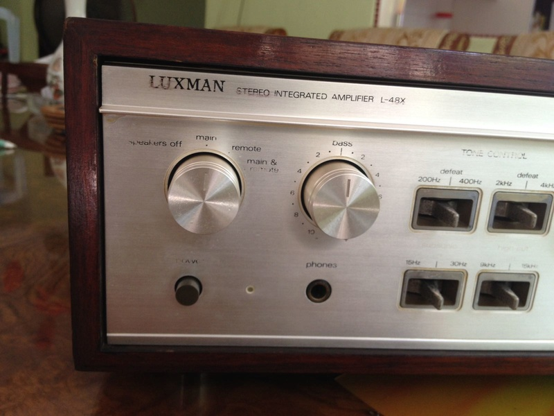 LUXMAN L-48X Duo beta plus-X circuitry Lux210
