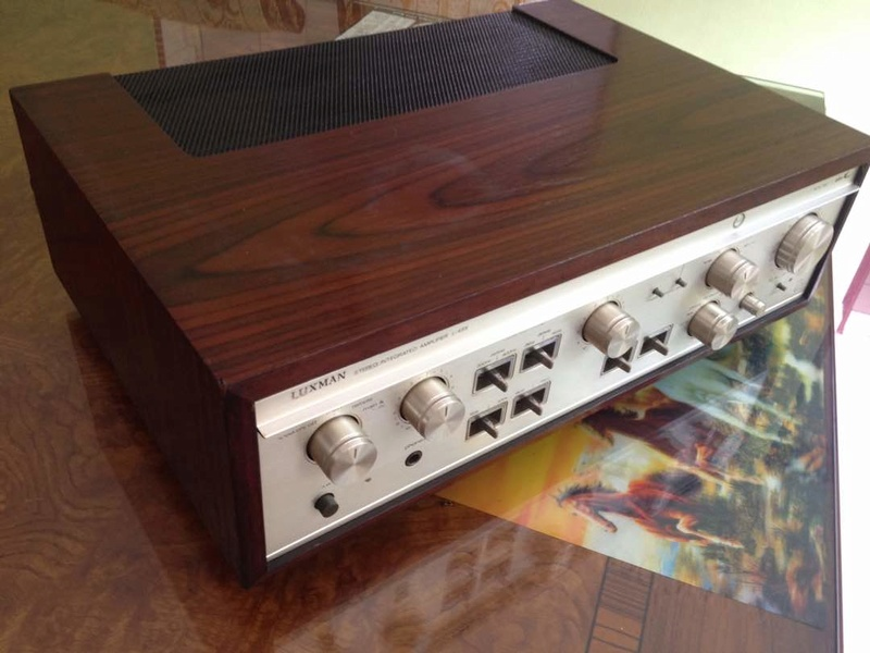 LUXMAN L-48X Duo beta plus-X circuitry Lux410