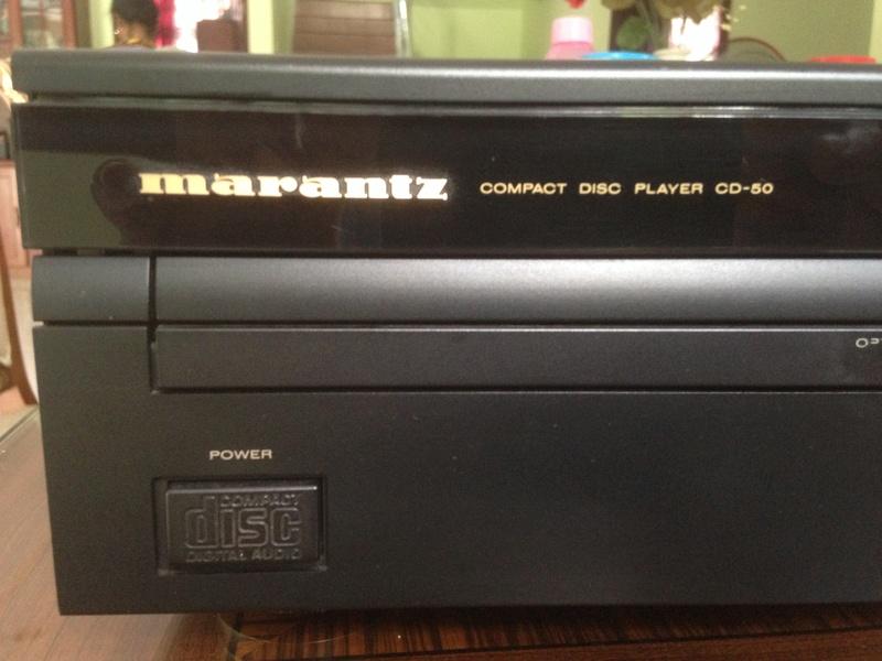 Marantz CD-50 With remote(SOLD) M50-0110
