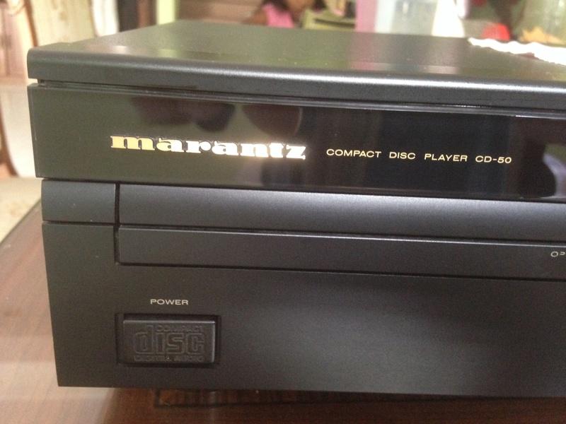 Marantz CD-50 With remote(SOLD) M50-110