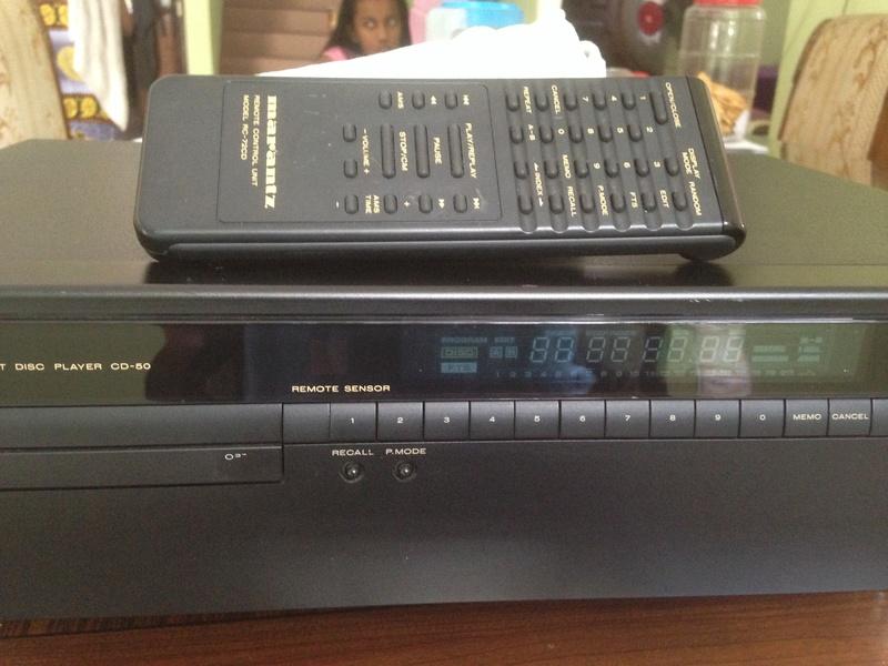 Marantz CD-50 With remote(SOLD) M50-210
