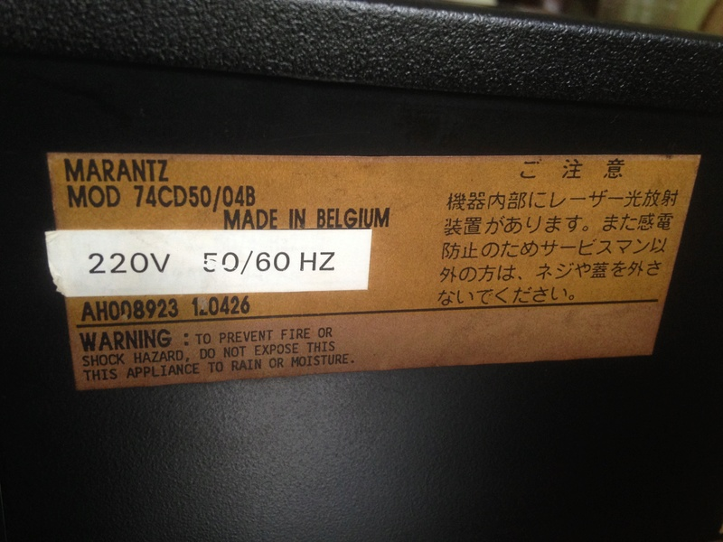 Marantz CD-50 With remote(SOLD) M50-610