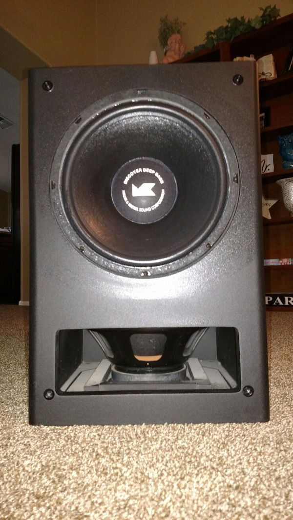 "M&K MX-100 Dual 12"" inch THX Powered Subwoofer(USA) Mk10010"