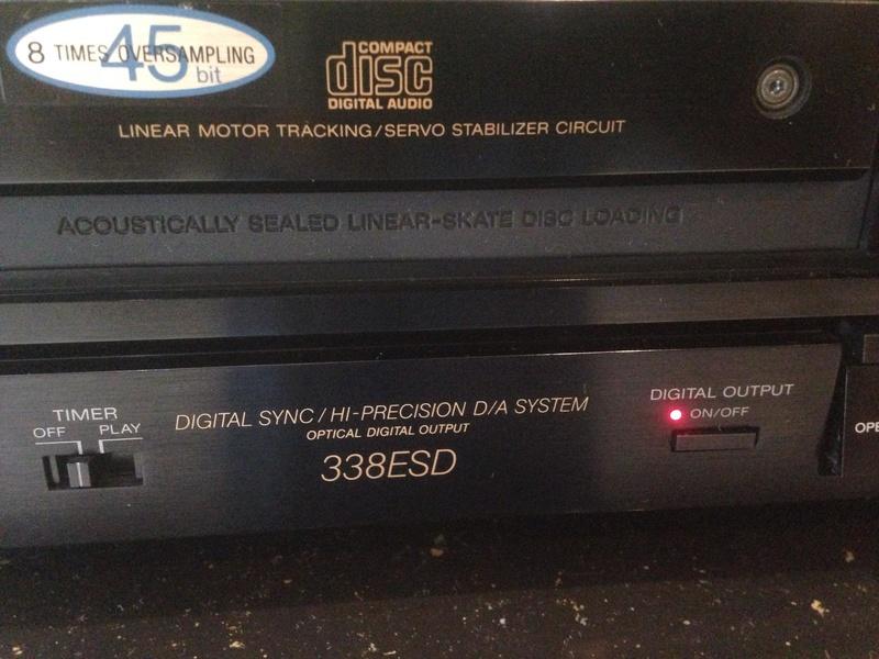 Sony CDP-338ESD master piece(Redu price) S110
