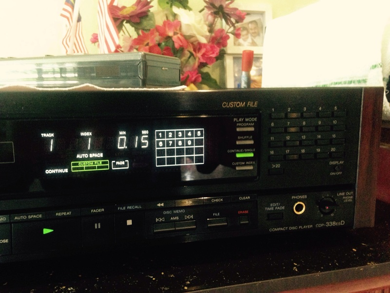 Sony CDP-338ESD master piece(Redu price) S310