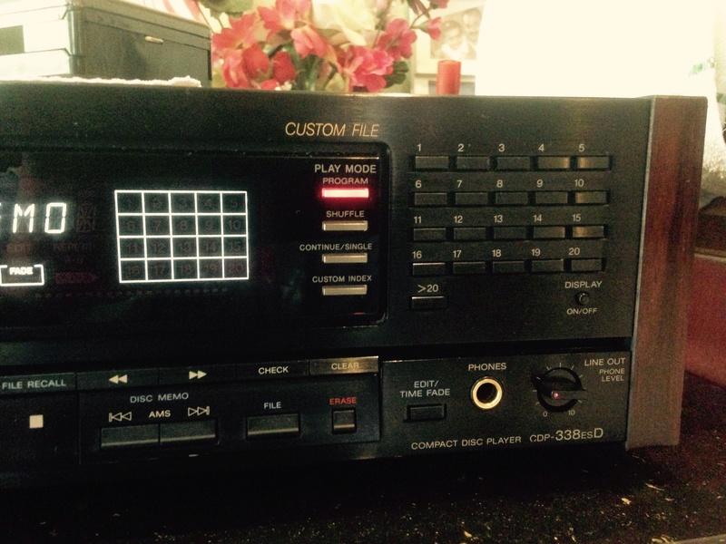Sony CDP-338ESD master piece(Redu price) S510