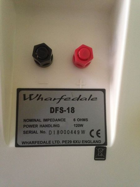 Wharfedale DFS-18 Bipolar Surround (SOLD) Wf410