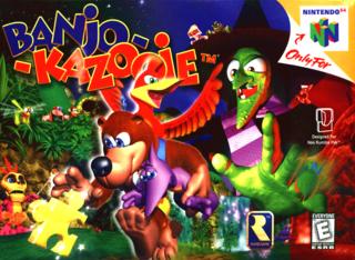 [N64] Banjo-Kazooie Banjo-10