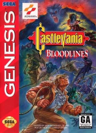 [Sega] Castlevania: Bloodlines Castle11