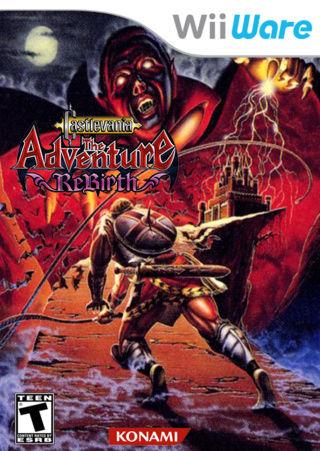 [Wii] Castlevania: The Adventure ReBirth Castle12