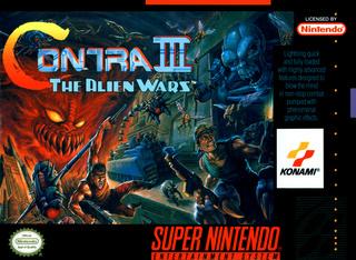 [SNES] Contra III: The Alien Wars Contra10