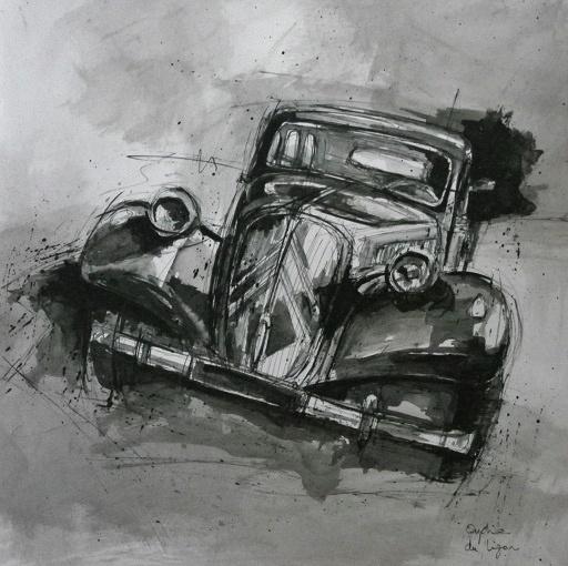 Dessins de voitures... - Page 5 989110