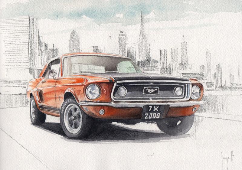 Dessins de voitures... - Page 3 Ford-m10
