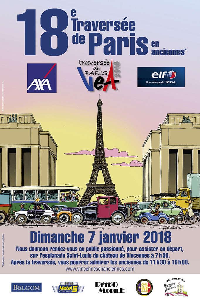La traversée de Paris le 7 Janvier 2018 12910