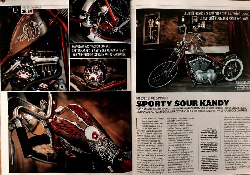 sportster,rigide,springer,magneto,kick,a l ancienne !!!  18216715
