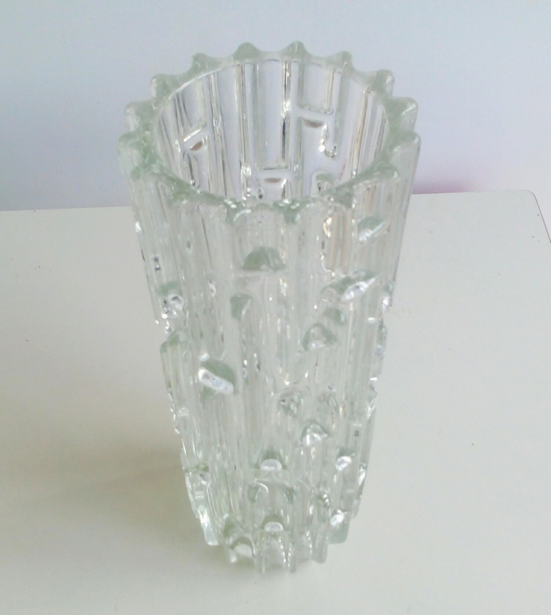 heavy glass vase - Sklo Union Img_2010