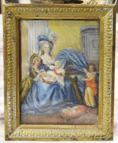 Portrait Marie Antoinette et ses enfants par Elisabeth Louise Vigée Lebrun - Page 2 10055210