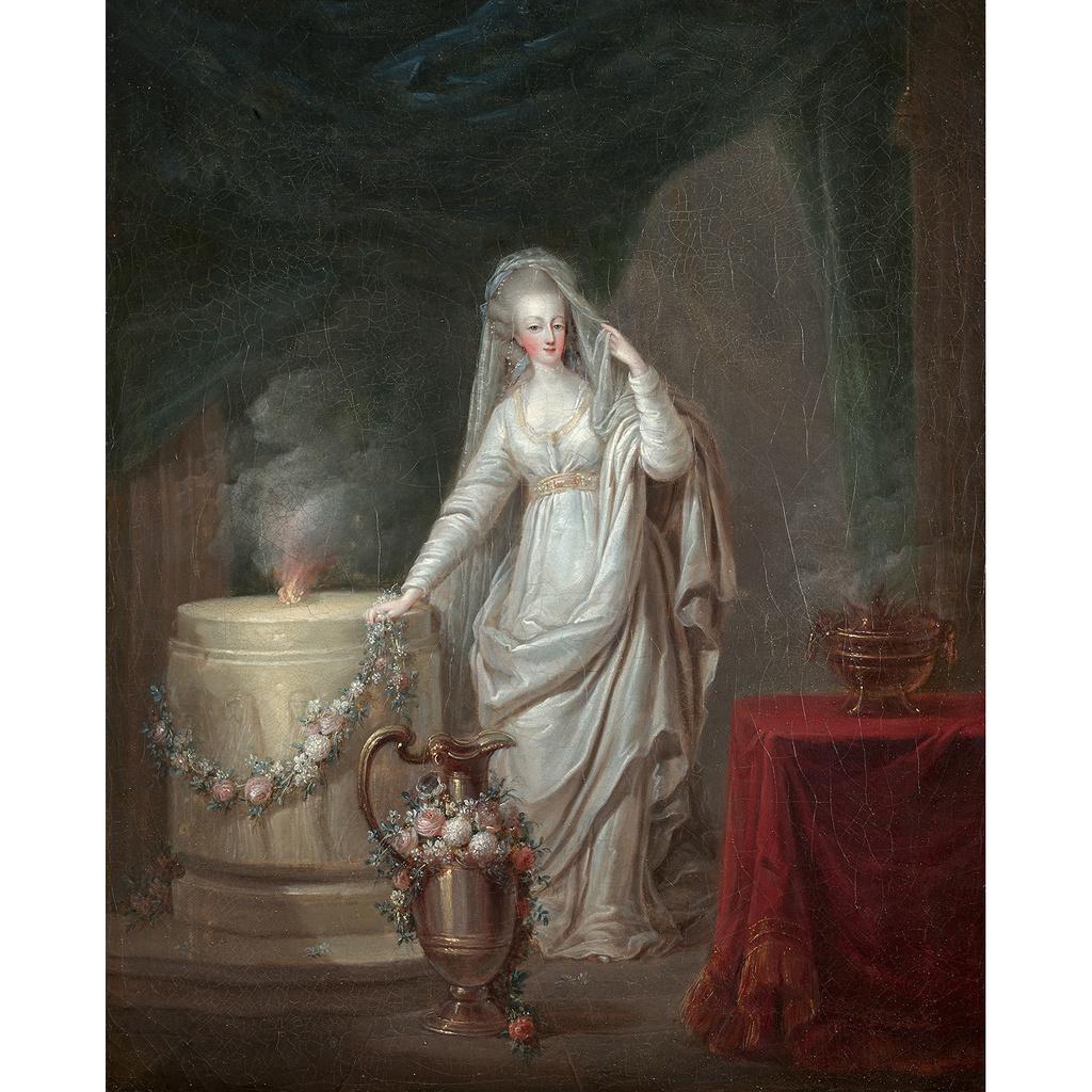 Marie-Antoinette en vestale à vendre ! 15275710