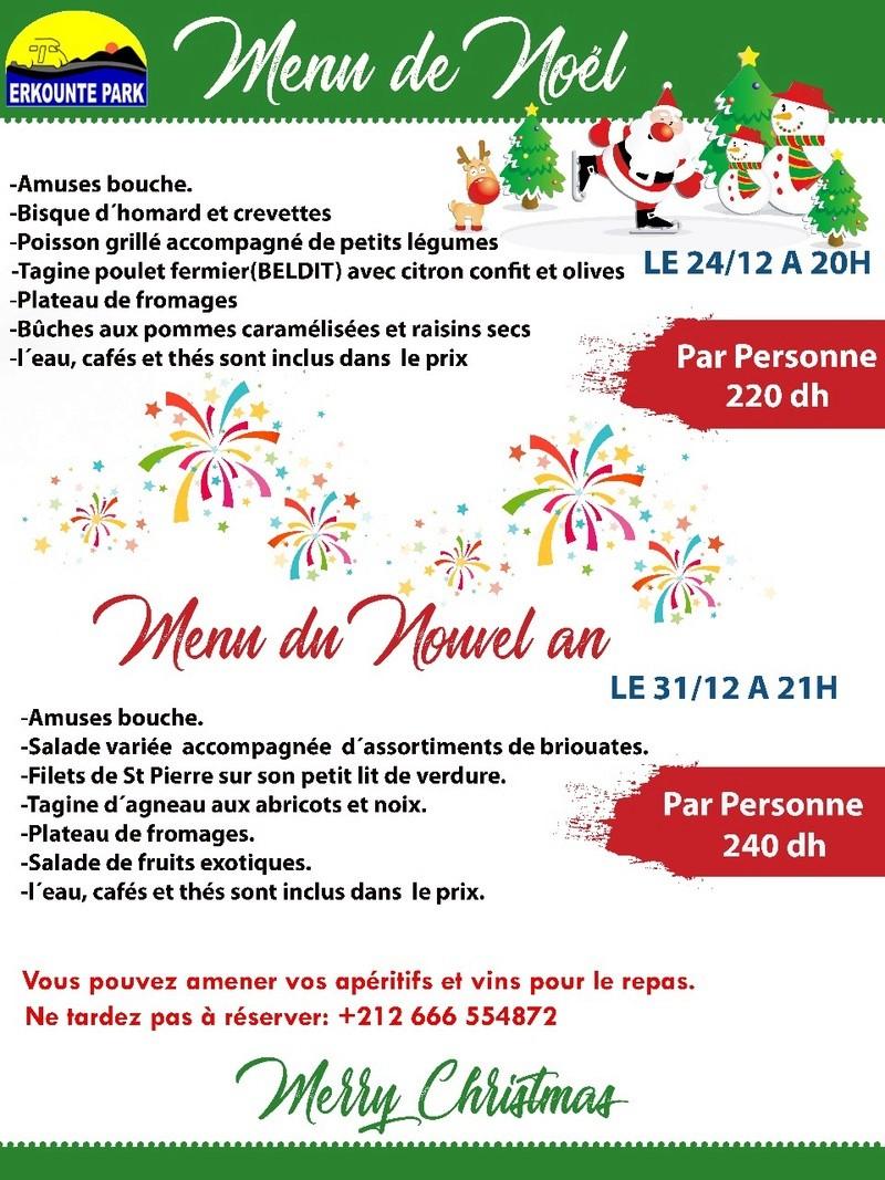 [Maroc Camp/Dernières nouvelles]Menus de fêtes de fin d'année à Erkounte Park   - Page 2 Img-2011