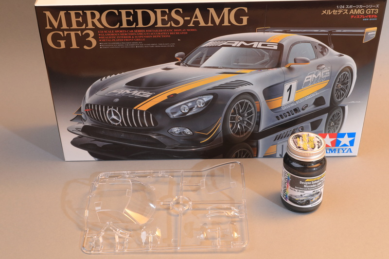 Mercedes AMG GT3  Tamiya 1/24  ref 24345 603a8926