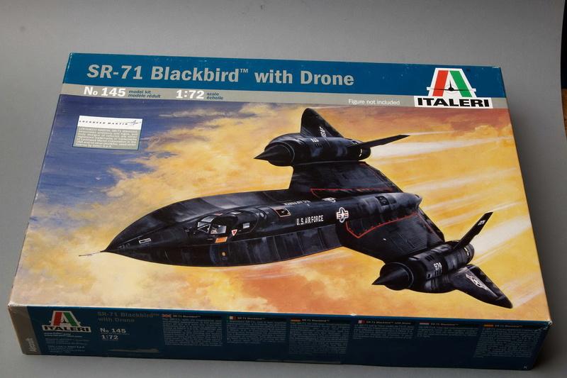 Blackbird  SR-71 avec drone ITALERI 1:72 Img_2566
