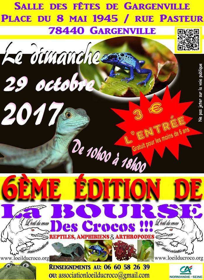 La Bourse des Crocos - 29 octobre 2017- dept 78 Gargenville  61708110