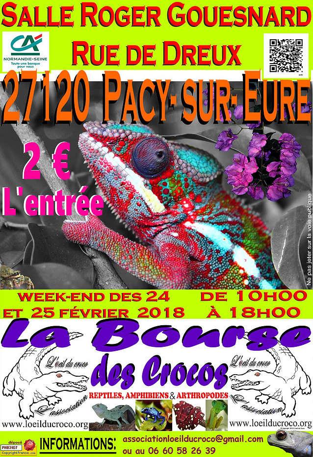 La Bourse des Crocos - 24 et 25 février 2018 - dépt 27 Pacy sur Eure Bfc29a10