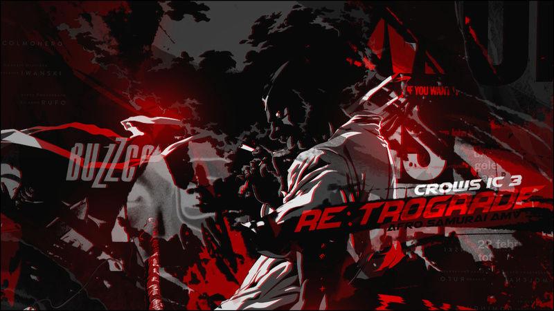 - Action - [Re:trogade - Afro Samurai AMV] Kitan  Bann_f10