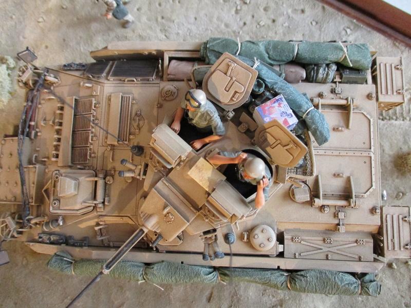 Guerre du Golfe 1991 - MCV Warrior (Academy) et T55 Enigma (ESCI et Verlinden)  Img_0015