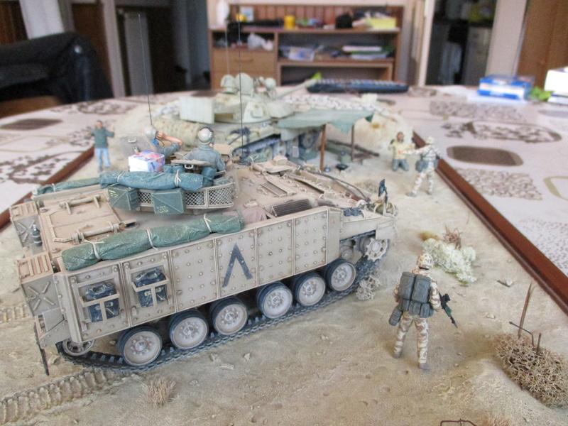 Guerre du Golfe 1991 - MCV Warrior (Academy) et T55 Enigma (ESCI et Verlinden)  Img_0028