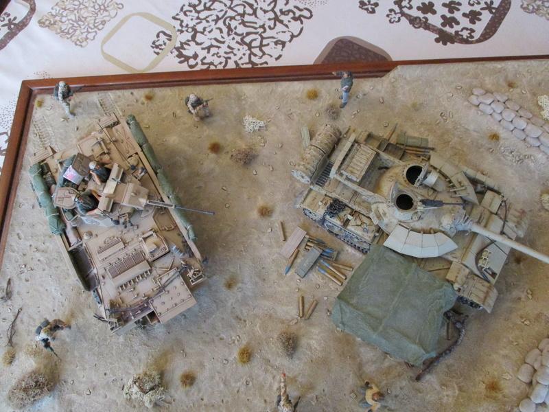 Guerre du Golfe 1991 - MCV Warrior (Academy) et T55 Enigma (ESCI et Verlinden)  Img_0029
