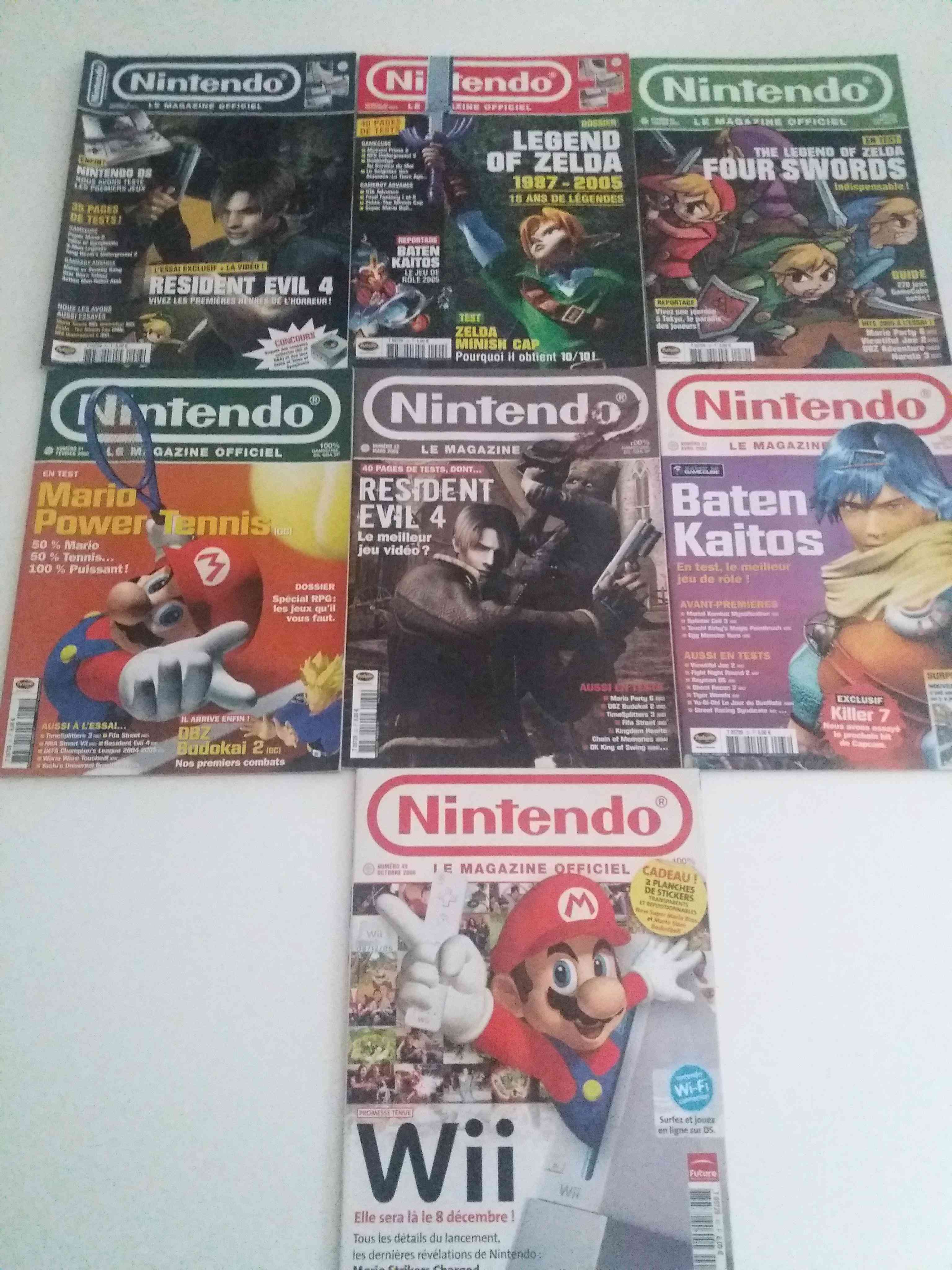 Lot de 34 magazines officiel Nintendo 34011410
