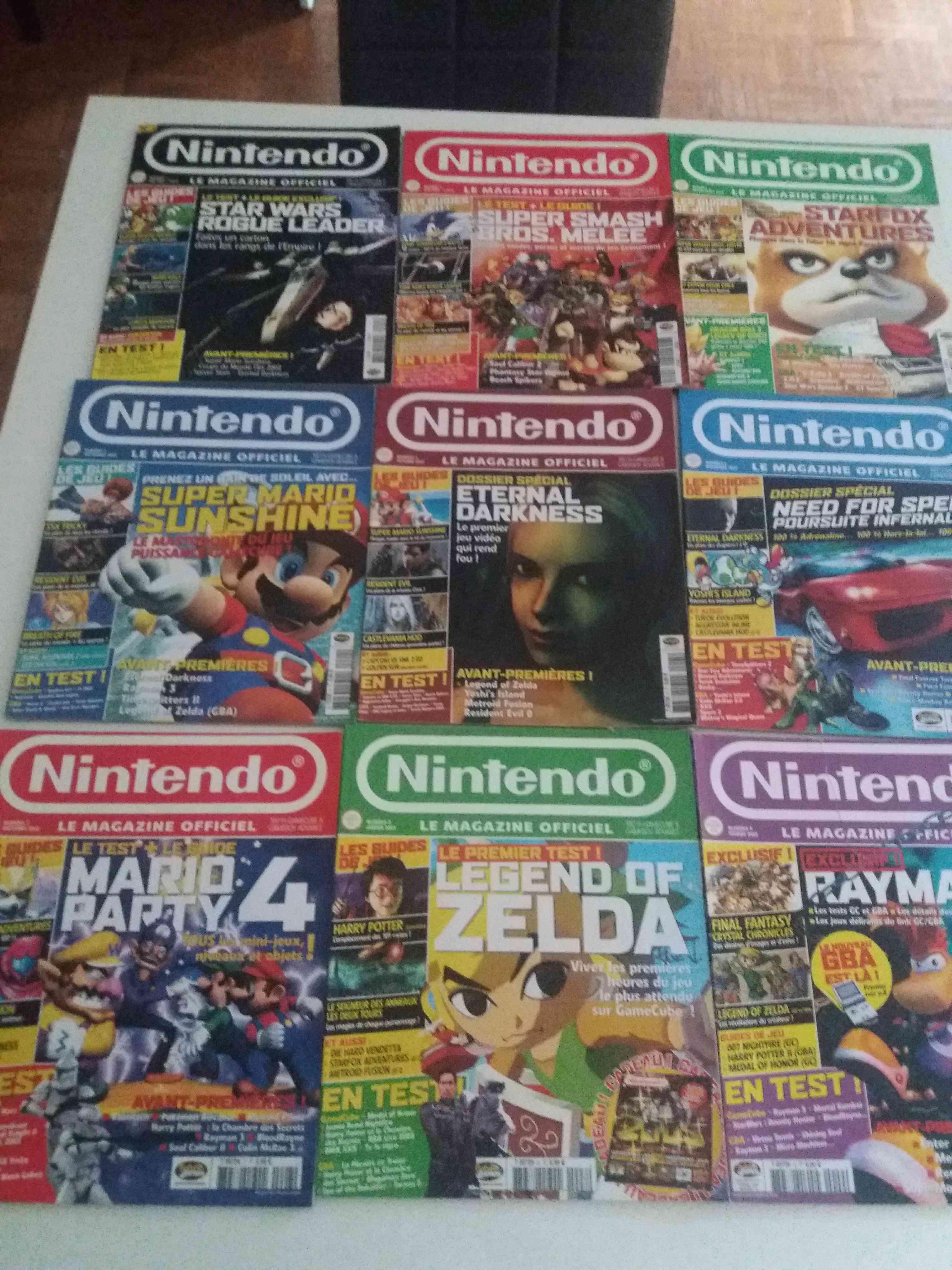Lot de 34 magazines officiel Nintendo 34034410
