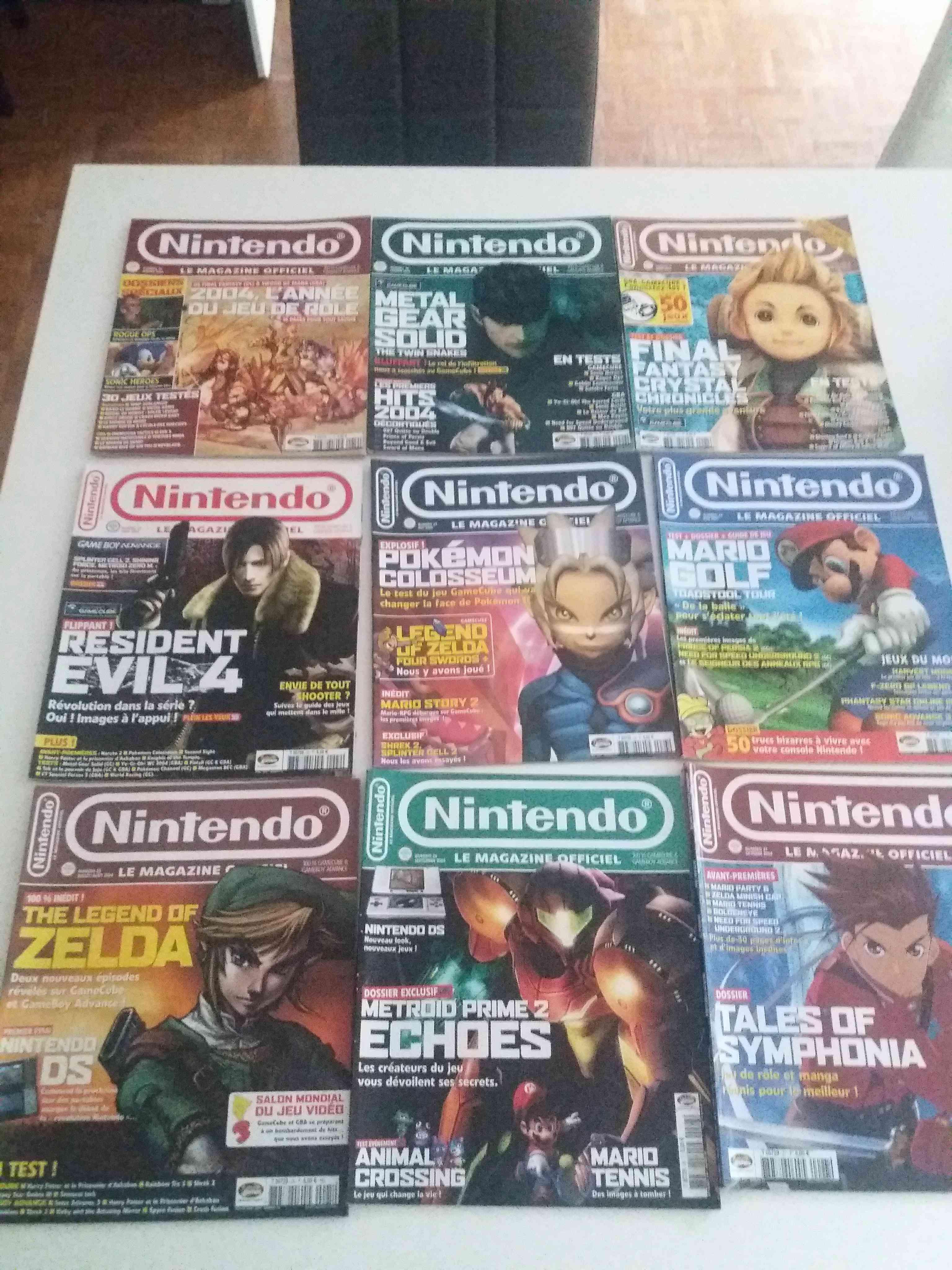 Lot de 34 magazines officiel Nintendo 34162910