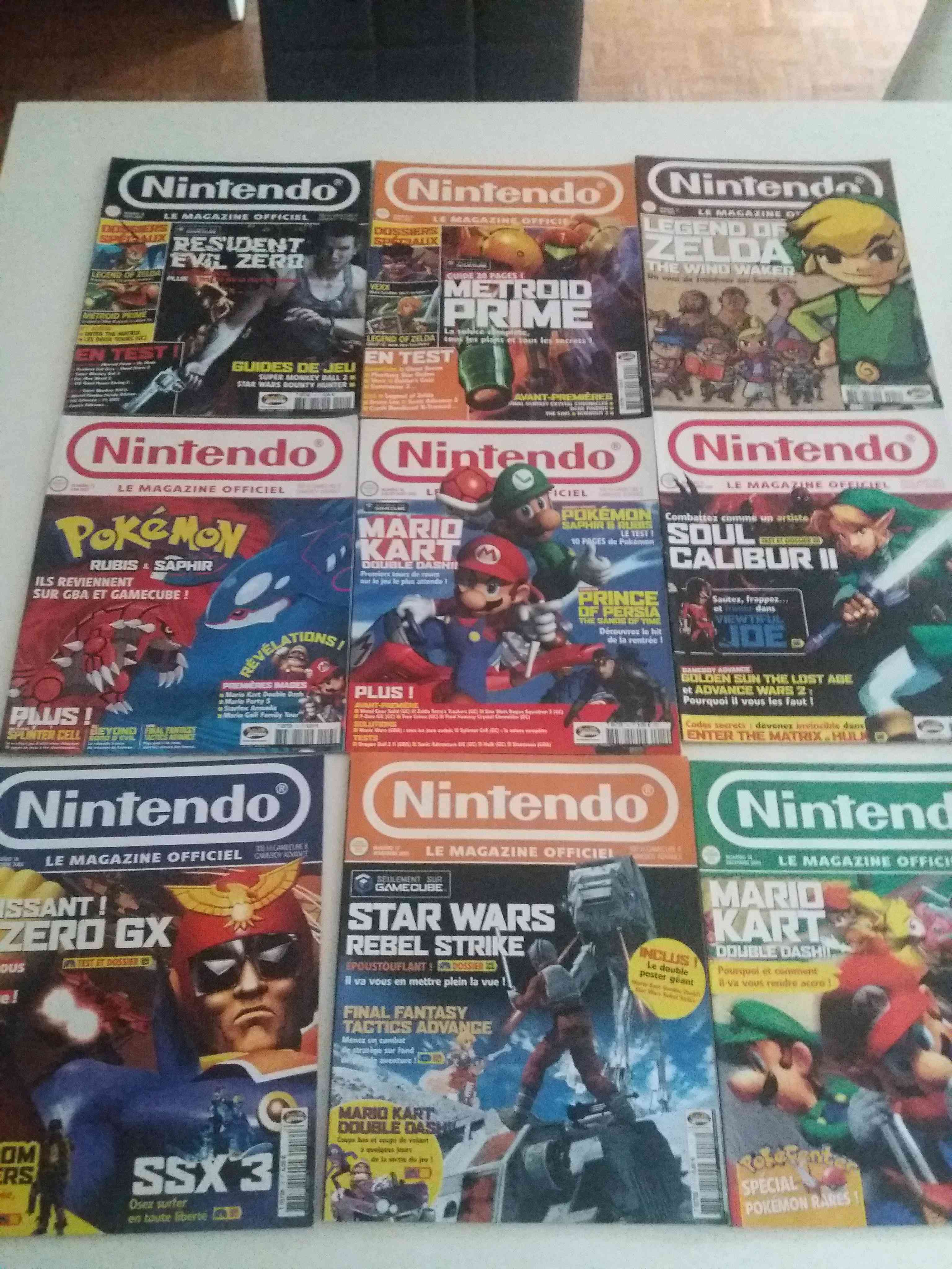 Lot de 34 magazines officiel Nintendo 34268510