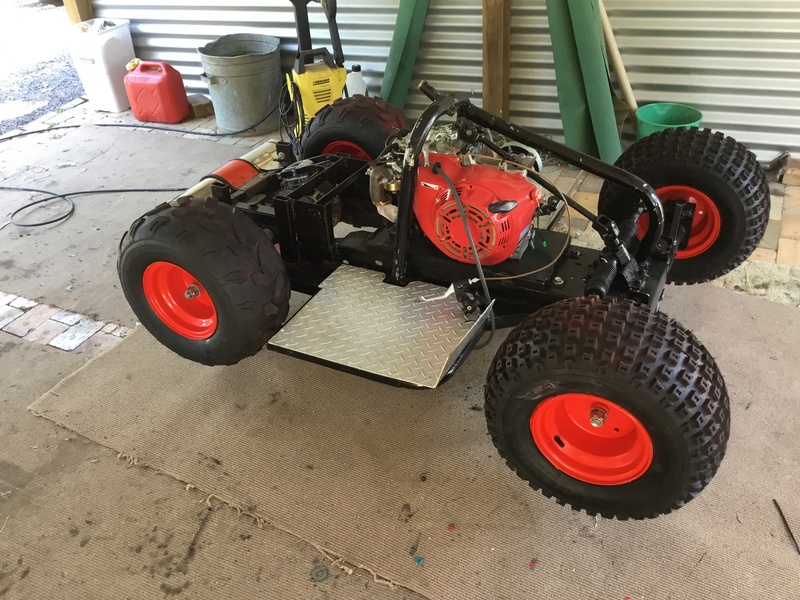2017 lawn tractor buildoff SPEEDSTER Dave 007 [2017 Build-Off Entry] [Finalist] 27f29d10