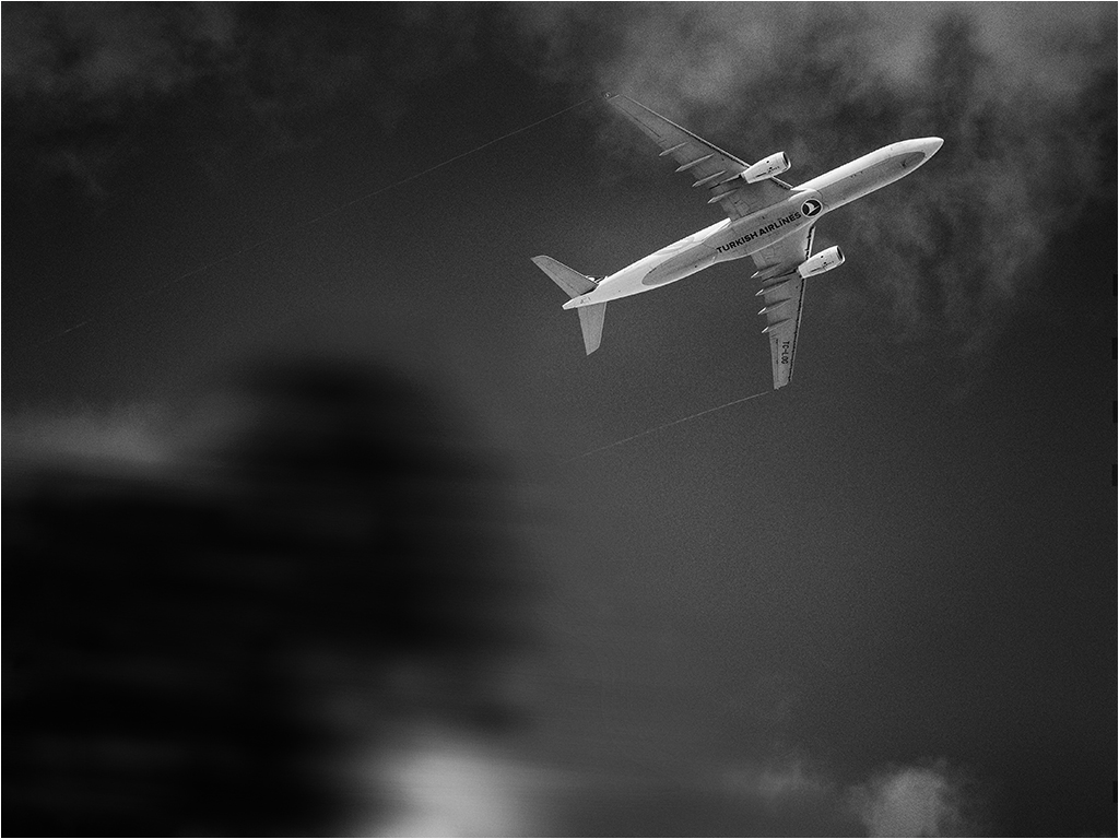 """"""" le couloir aérien...."""" _1200510"""