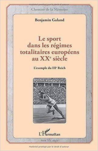 """L'Harmattan : """"Le sport dans les régimes totalitaires européens au XXème siècle"""" Les_sp10"""