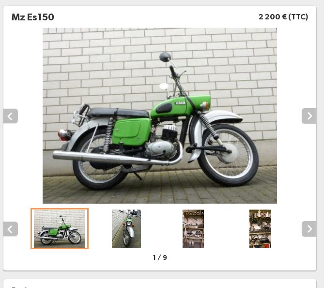 Vive la moto verte ! Es25010