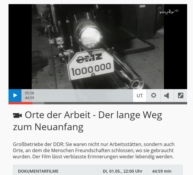 """Vidéo : """"Lieux du travail"""", MDR, 01/05/2018 Mdr_or10"""