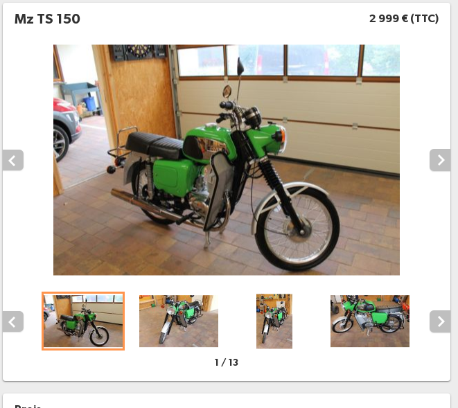 Vive la moto verte ! Ts25010