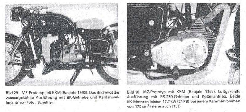 Prototypes MZ à moteur Wankel Wankel10