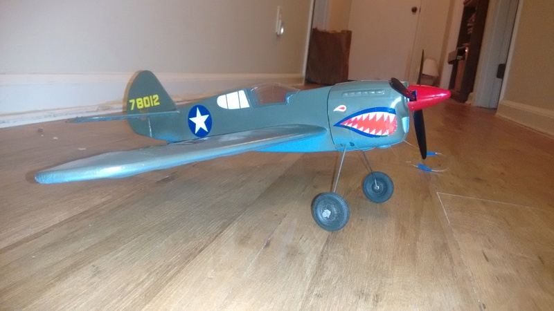 "*SOLD* Walt Musciano Scientific ""Red Tiger P-40"" kit Img_2026"